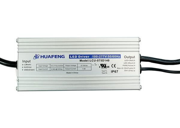75W Outdoor LED Drives LCU-075DXXX Series