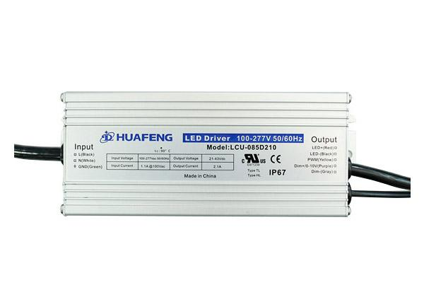 85W Outdoor LED Drives LCU-085DXXX Series