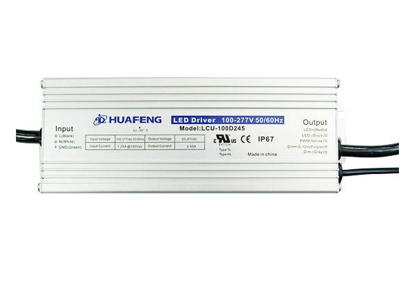 100W Outdoor LED Drives LCU-100DXXX Series