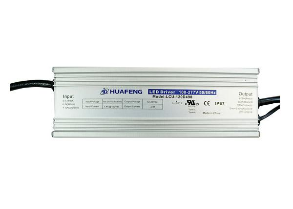 120W Outdoor LED Drives LCU-120DXXX Series